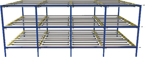 TotalGrow Stratum Vertical Farming Rack Example