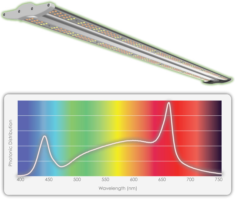 TotalGrow 40W TG4B-1303 Stratum Vertical Farming LED Light Bar