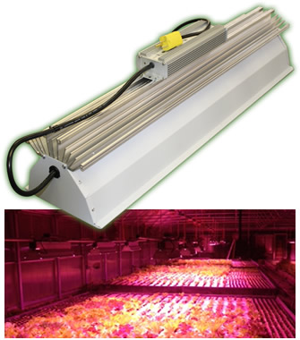 TotalGrow 155W TG15A Broad Grow Spectrum Light LED Fixtures